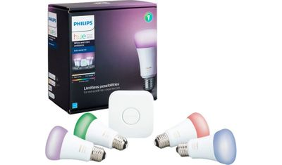 Image of Phillips Hue as starting point to Smart House